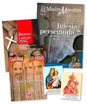 Revista Madre y Maestra. Nuestra Señora del Sagrado Corazón. Misioneros MSC