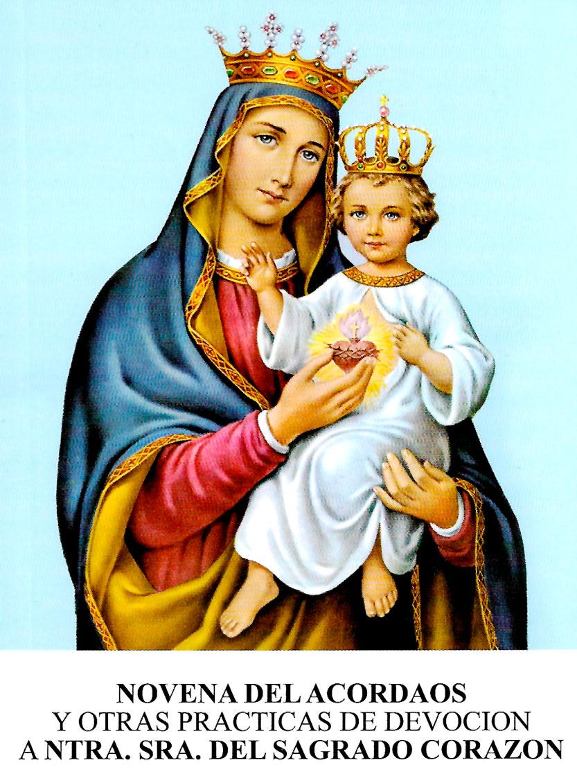 Novena del Acordaos. Nuestra Señora del Sagrado Corazón. MSC