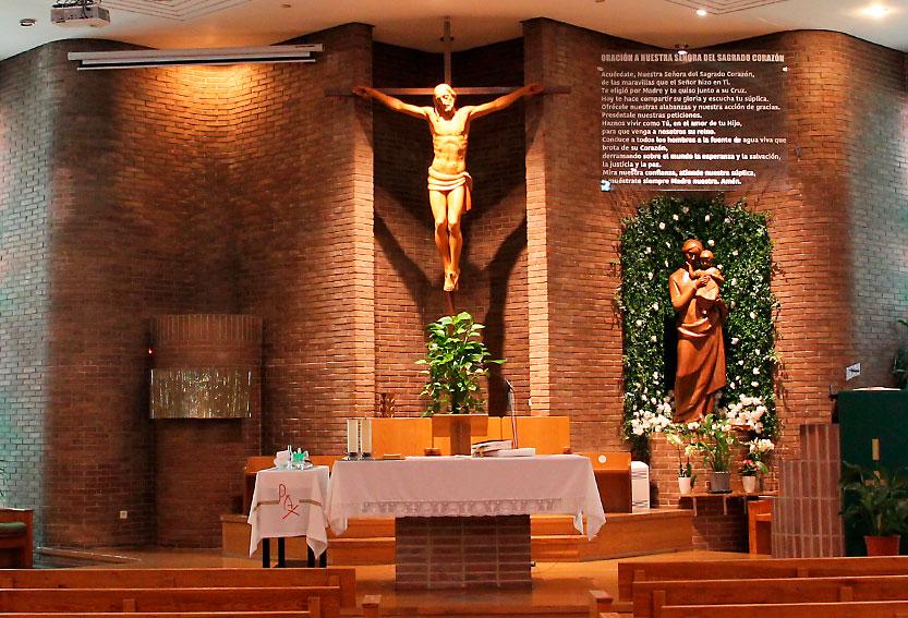 Santuario Parroquia Nuestra Señora del Sagrado Corazón. Madrid. MSC. PNS