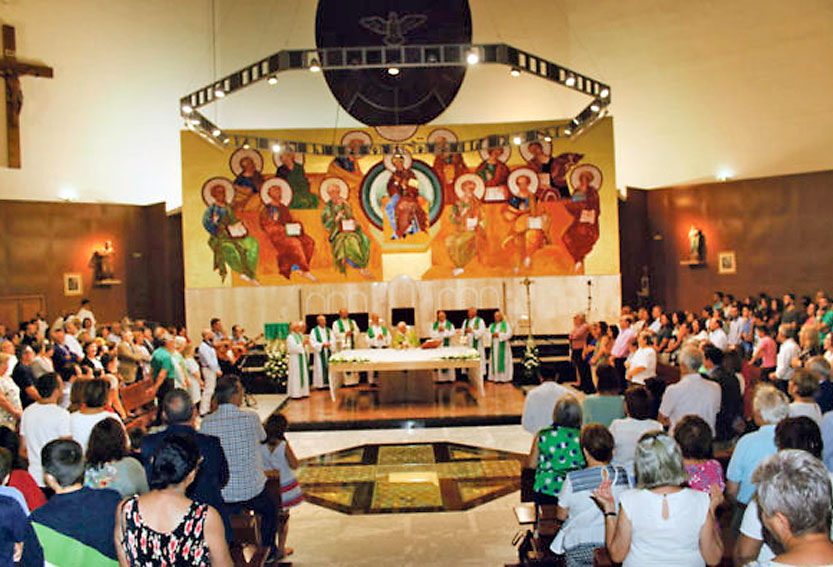 Parroquia de San Jerónimo. Valencia. MSC. Sagrado Corazón.