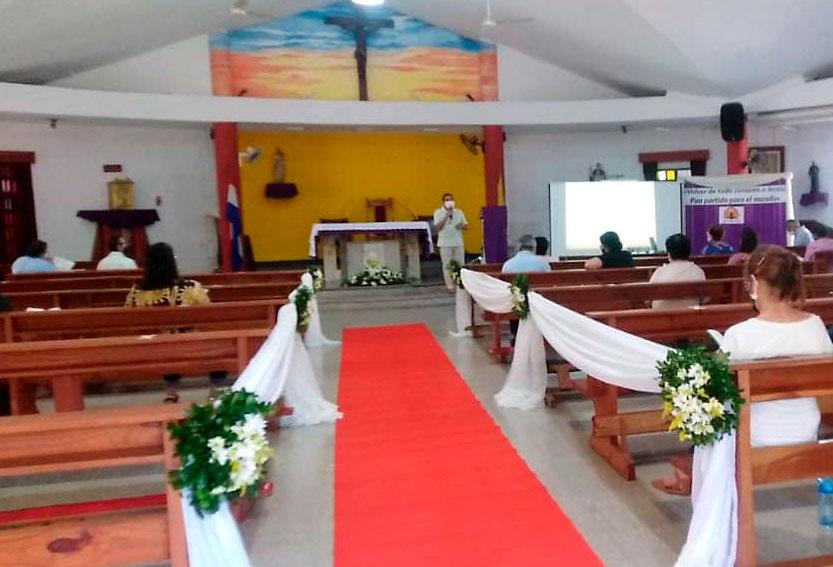 Parroquia San Pío X. Fernando de la Mora. Asunción. Paraguay. Sagrado Corazón. MSC
