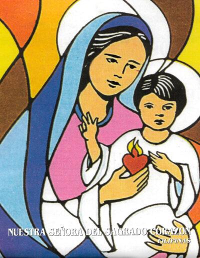 Nuestra Señora del Sagrado Corazón. Filipinas. MSC