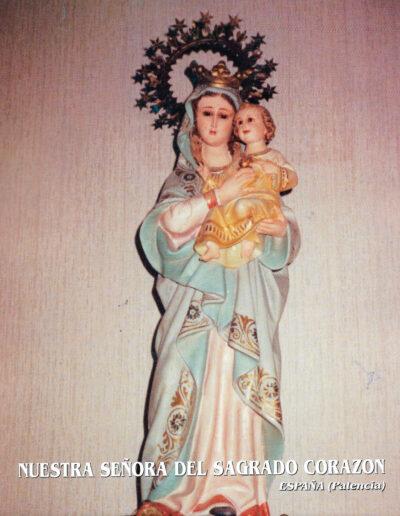 Nuestra Señora del Sagrado Corazón. Palencia. España. MSC