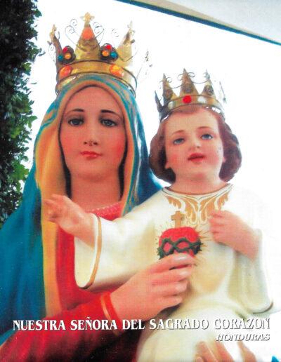 Nuestra Señora del Sagrado Corazón. Honduras. MSC
