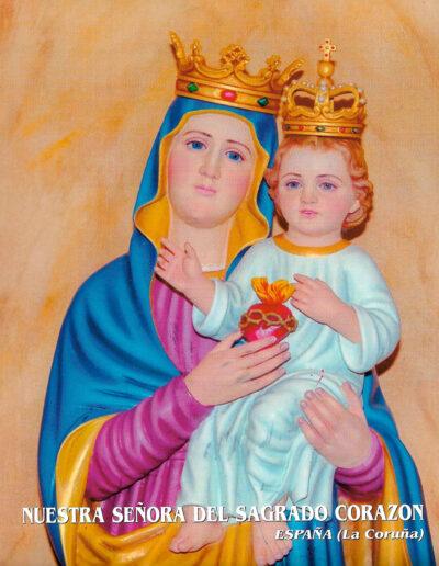 Nuestra Señora del Sagrado Corazón. La Coruña. España. MSC