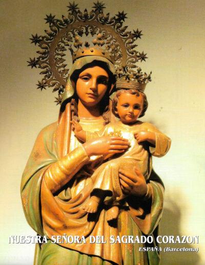 Nuestra Señora del Sagrado Corazón. Barcelona. España. MSC