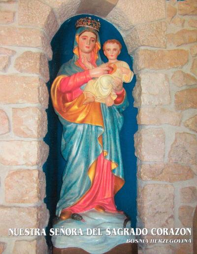 Nuestra Señora del Sagrado Corazón. Bosnia Herzegovina. MSC