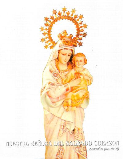 Nuestra Señora del Sagrado Corazón. Madrid. España. MSC