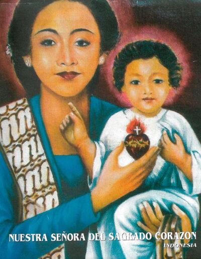 Nuestra Señora del Sagrado Corazón. Indonesia. MSC