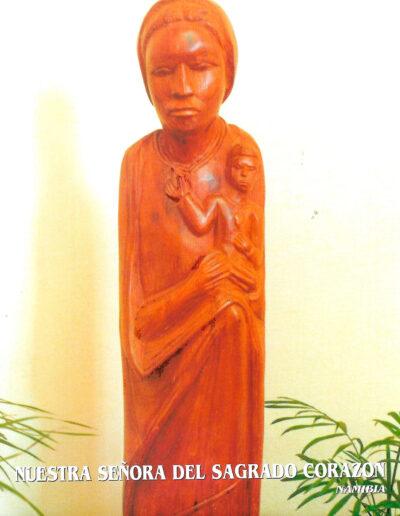 Nuestra Señora del Sagrado Corazón. Namibia. MSC